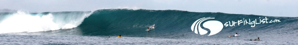 Surfinglist header
